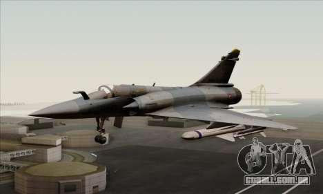 Dassault Mirage 2000-5 ACAH para GTA San Andreas