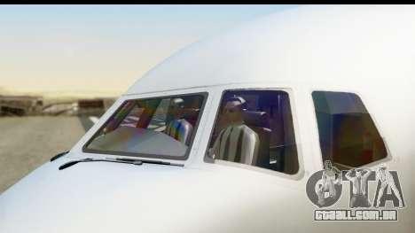 Boeing 777-200ER American Airlines para GTA San Andreas vista direita