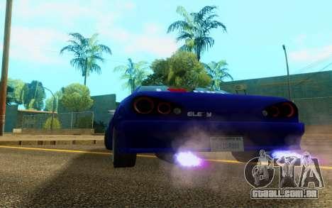 Elegy WorldDrift v1 para GTA San Andreas vista direita