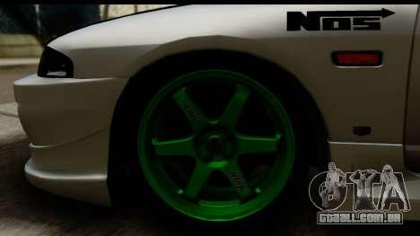 Nissan Skyline R33 para GTA San Andreas vista traseira