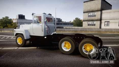 Mack R700 para GTA 4 esquerda vista
