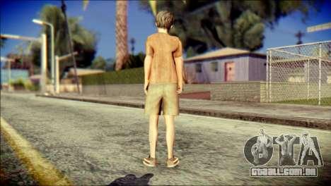 Joshua Shepherd SH Homecomimg para GTA San Andreas segunda tela