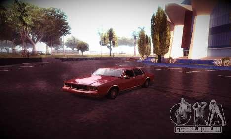 Ebin 7 ENB para GTA San Andreas décimo tela