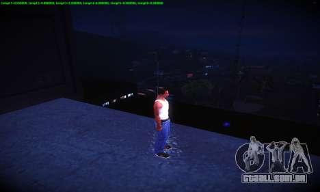 Ebin 7 ENB para GTA San Andreas oitavo tela