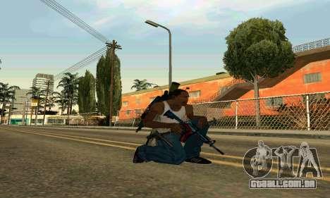 M4A1 Hyper Beast para GTA San Andreas segunda tela