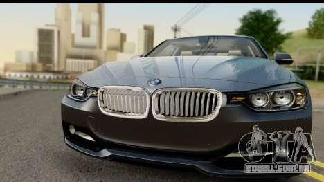 BMW 335i Coupe 2012 para GTA San Andreas traseira esquerda vista