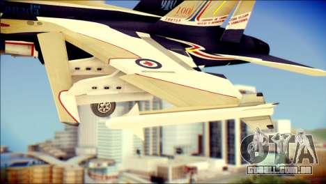 FA-18D Hornet RCAF para GTA San Andreas vista direita