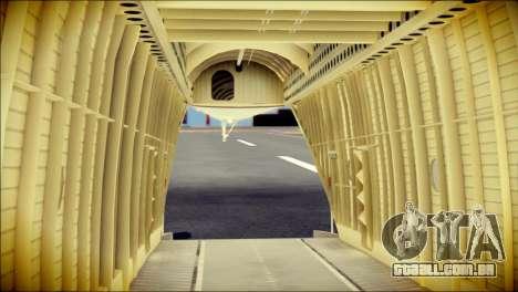 Mi-26 Halo para GTA San Andreas vista traseira