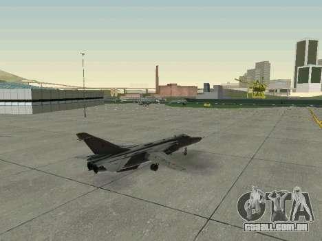SU 24MR para GTA San Andreas vista superior