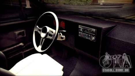 Volkswagen Caddy Widebody Top-Chop para GTA San Andreas vista direita