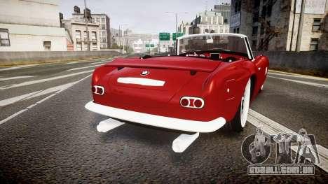 BMW 507 1959 Stock Hamann Shutt VX4 [RIV] para GTA 4 traseira esquerda vista