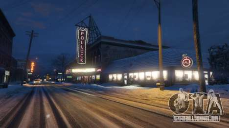 Viagem para o Norte de Yankton para GTA 5