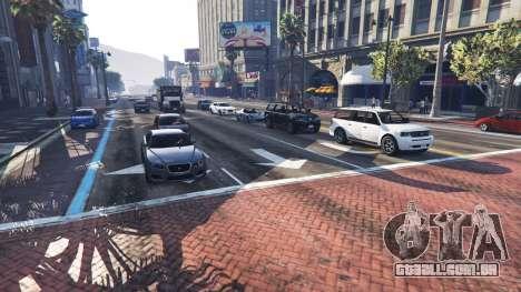 Mais tráfego e população para GTA 5