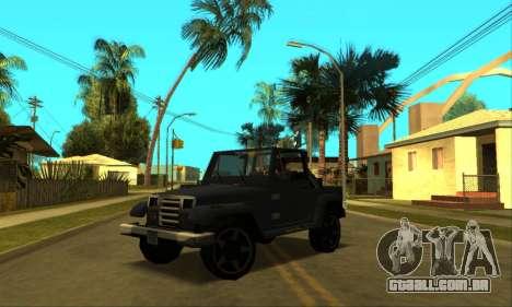 Mesa Final para as rodas de GTA San Andreas