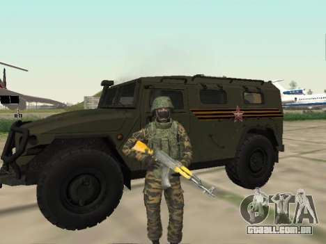 GAZ 2330 Frente para GTA San Andreas esquerda vista