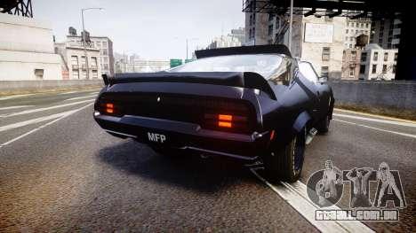 Ford Falcon XB GT351 Coupe 1973 Mad Max para GTA 4 traseira esquerda vista