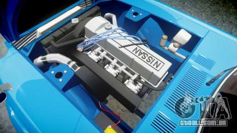 Nissan Fairlady Z (S30) Devil Z para GTA 4 vista de volta