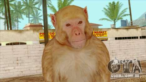 Monkey Skin from GTA 5 v2 para GTA San Andreas