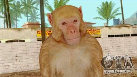 Monkey Skin from GTA 5 v2 para GTA San Andreas terceira tela