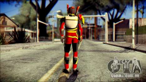 Satria Garuda Bima X para GTA San Andreas segunda tela