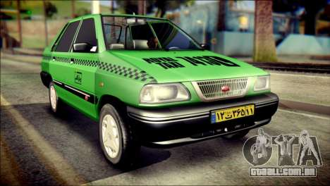 Kia Pride 141 Iranian Taxi para GTA San Andreas