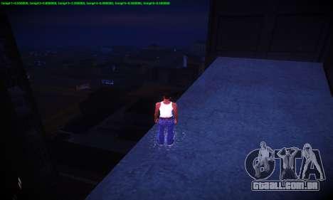 Ebin 7 ENB para GTA San Andreas nono tela