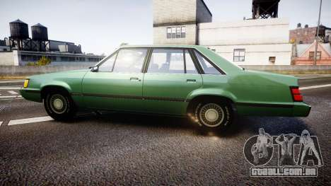 Ford LTD LX 1985 v1.6 para GTA 4 esquerda vista