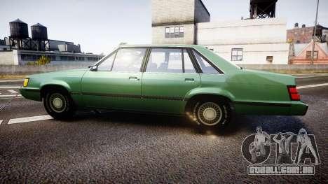 Ford LTD LX 1985 v1.6 para GTA 4 esquerda vista