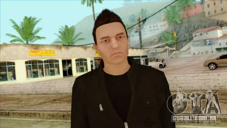Claude from GTA 5 para GTA San Andreas terceira tela