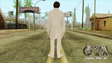 Takedown Redsabre NPC Scientist para GTA San Andreas segunda tela