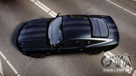 Ford Mustang GT 2015 FBI Unmarked [ELS] para GTA 4 vista direita