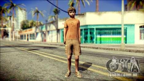 Joshua Shepherd SH Homecomimg para GTA San Andreas