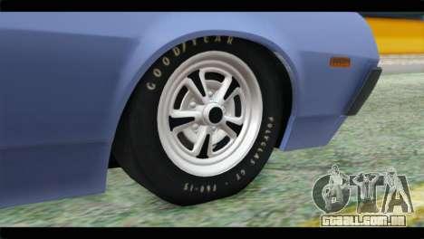 Ford Gran Torino para GTA San Andreas traseira esquerda vista
