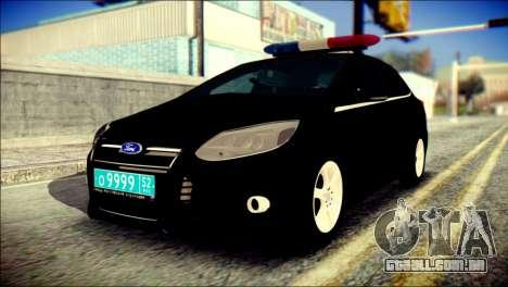 Ford Focus ДПС para GTA San Andreas