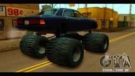 Monster Merit para GTA San Andreas esquerda vista