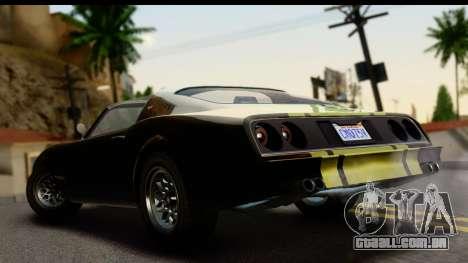 GTA 5 Imponte Phoenix IVF para GTA San Andreas esquerda vista