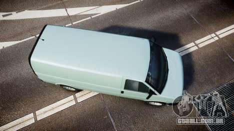 Vapid Speedo ST para GTA 4 vista direita
