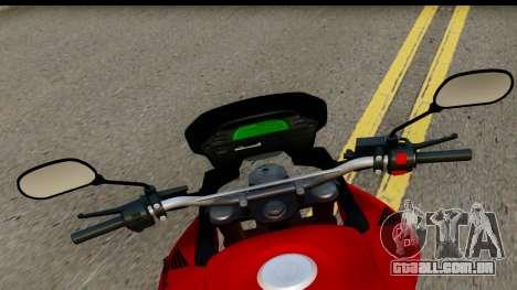 Honda XRE 300 v2.0 para GTA San Andreas traseira esquerda vista