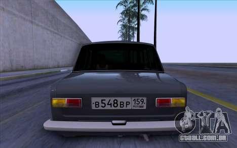 VAZ 2101 БПАN para GTA San Andreas vista direita