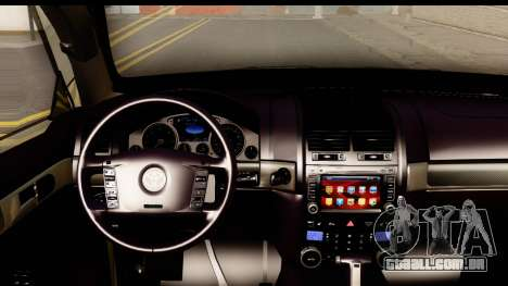 Toyota Land Cruiser 200 2013 para GTA San Andreas vista interior