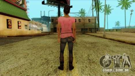 Rochelle from Left 4 Dead 2 para GTA San Andreas segunda tela