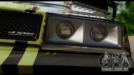 GTA 5 Imponte Phoenix IVF para GTA San Andreas vista traseira
