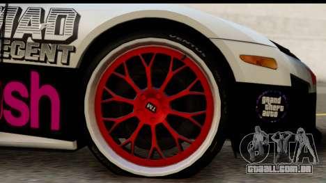 Lexus LFA 2010 Kaneki Ken Itasha para GTA San Andreas vista traseira