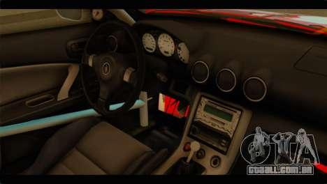 Nissan Silvia S15 Drift Hirasawa Yui Itasha para GTA San Andreas vista direita