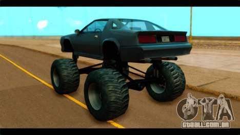 Monster Buffalo para GTA San Andreas esquerda vista