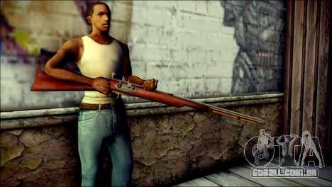 Tokisaki Kurumi Rifle para GTA San Andreas terceira tela