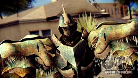 Grimlock Skin from Transformers para GTA San Andreas terceira tela