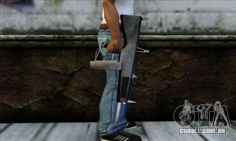 AA-12 Weapon para GTA San Andreas terceira tela