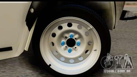 VAZ 2101 Cólicas para GTA San Andreas vista traseira