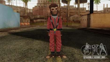 Monkey from GTA 5 v3 para GTA San Andreas
